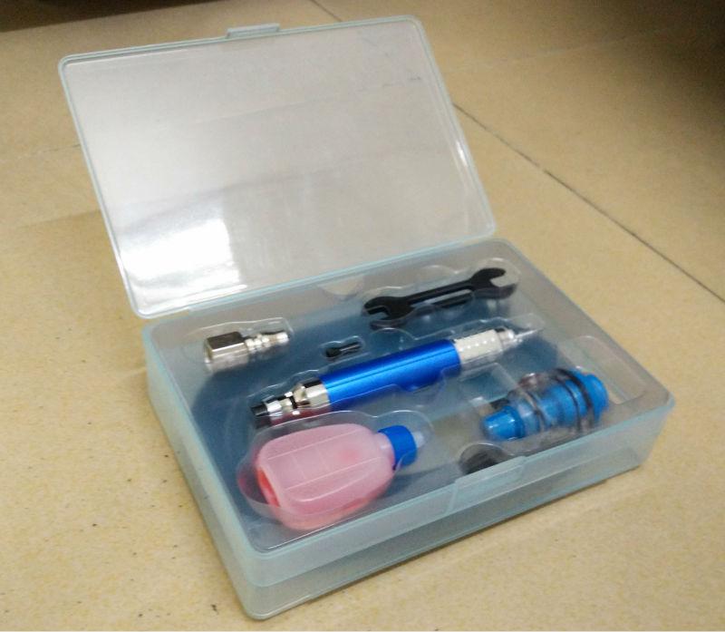 CAL-370B Smerigliatrice pneumatica di precisione Micro pinza prodotta - Utensili elettrici - Fotografia 2