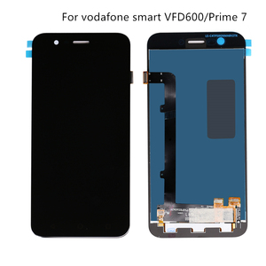 Image 1 - For Vodafone Smart Prime 7 VFD600 touch screen display VF600 mobile phone repair display + touch screen components Free shipping