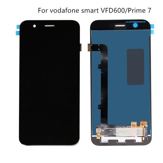 대 한 보다 폰 (Vodafone Smart Prime 7 VFD600 touch screen display VF600 mobile 폰 repair 디스플레이 + touch screen components Free shipping