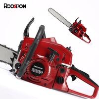 RDDSPON Chainsaw TM6150 2400W High Power Portable Garden Tools Industrial Chain Saw Logging gasolin Saws 2 Stroke Easy To Start