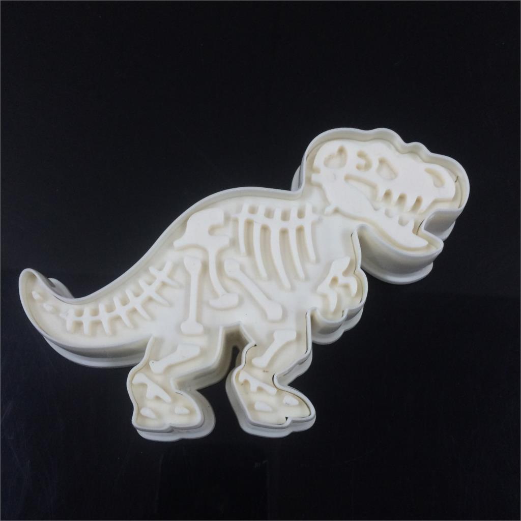 6pcs / set cookies dinosaur pemotong acuan biskuit set baking alat - Dapur, makan dan bar - Foto 5