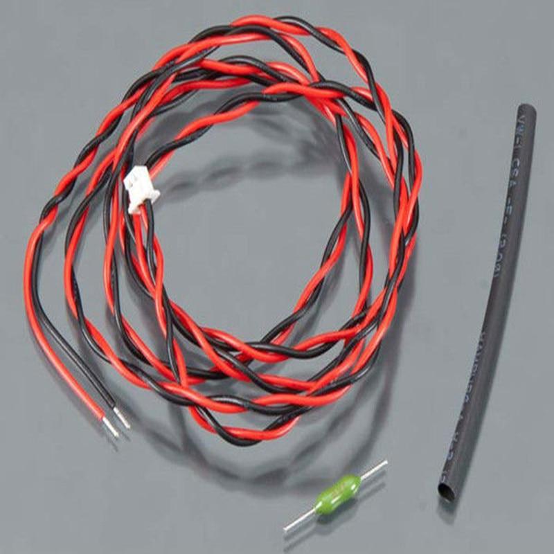 F05839 External Voltage Cable RX Receiver for futaba 14SG 70V 18MZ R7008SB
