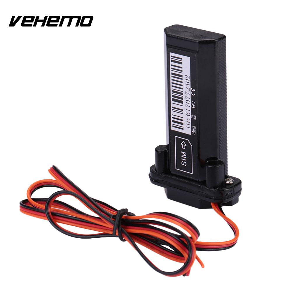 Vehemo Tracker Locator Car GSM GPS GPRS Waterproof Anti Theft Positioning Device