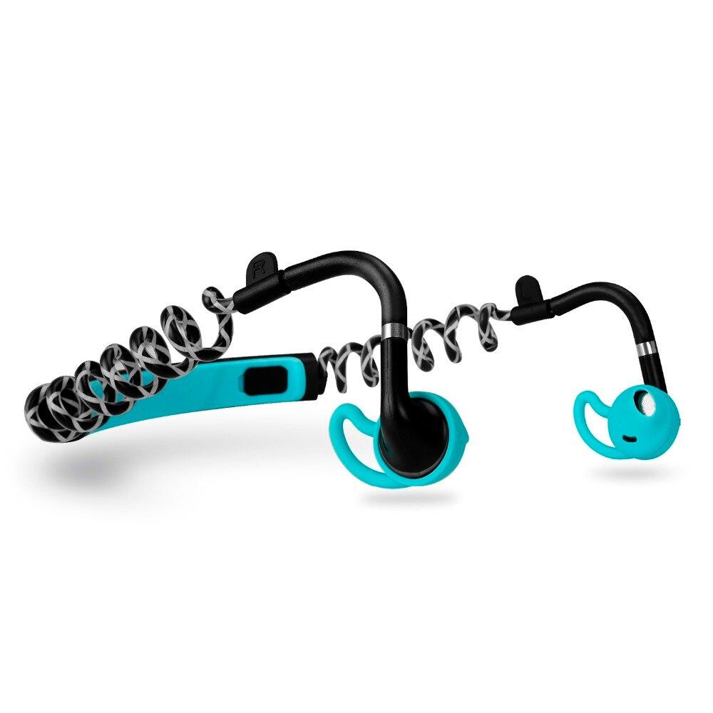 2018 New Sport Bluetooth Earphone Stick Wireless Headset Stereo Bass Run No Fall Bodybuilders Neckband Earphones For Music Call