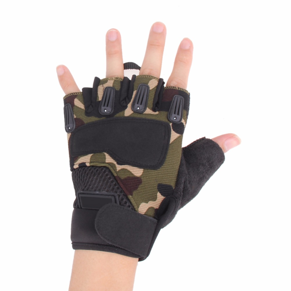 Fingerless gloves hunting - Special Forces Tactical Half Finger Gloves Outdoor Cycling Tactical Gloves Hunting Mountaineering Paintball Sport Army Gloves