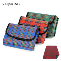 Waterproof Camping Mat Foldable Multiplayer Picnic Blanket Non Toxic Plaid Baby Climb Blanket Beach Mat 150