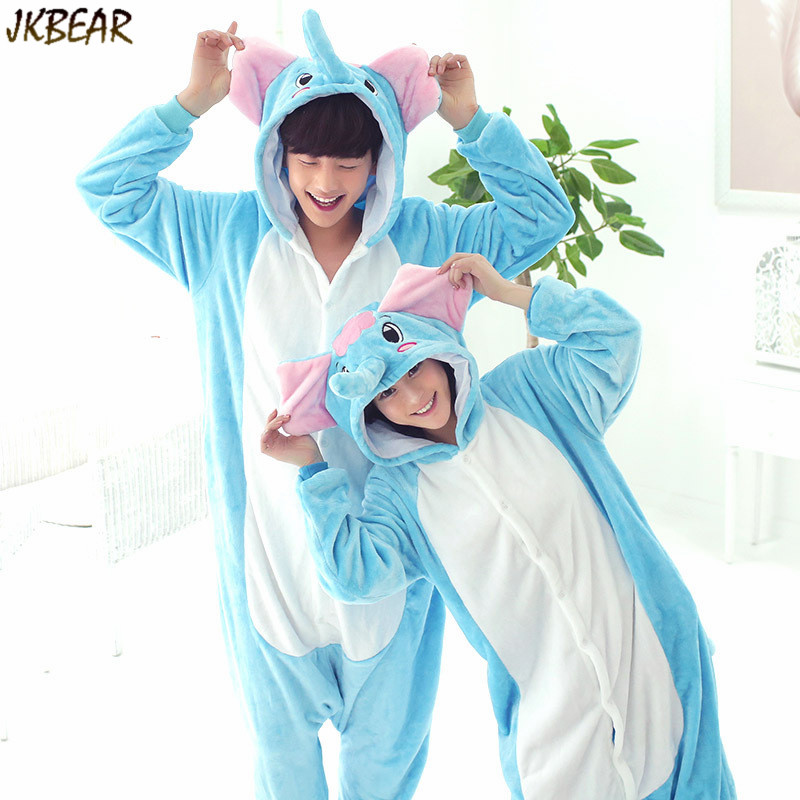Funny Animal Costume Couples Matching Onesie Pajamas Cute Elephant Onesies  for Teenagers and Adults Flannel Plus Size PJS S XL on Aliexpress.com |  Alibaba ...