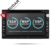 Isudar 2 Din Android 9 Car Radio For VW/Volkswagen/GOLF/POLO/TRANSPORTER/Passat b5 Auto Multimedia DVD Video Player GPS DVR FM