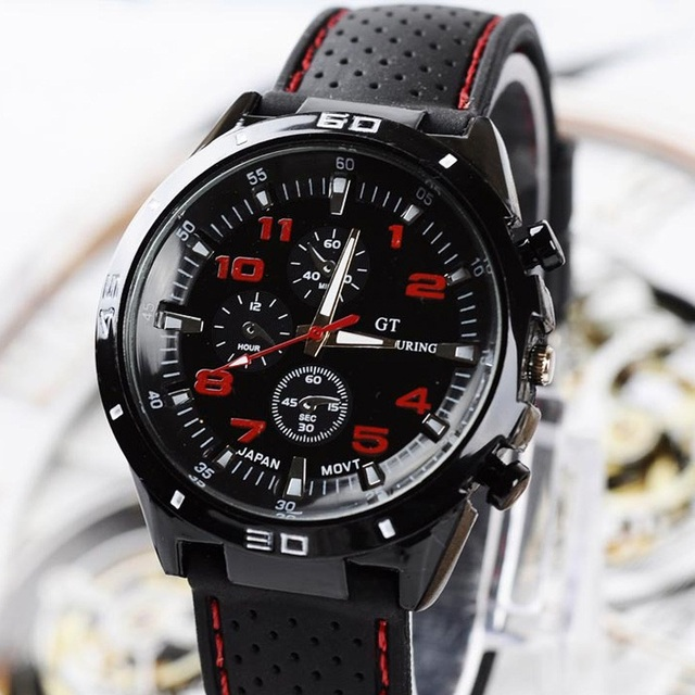 4b97f75b4d1 2019 Marca de Luxo dos homens Relógios Analógico Relógio de Pulso de clock  Horas de Aço