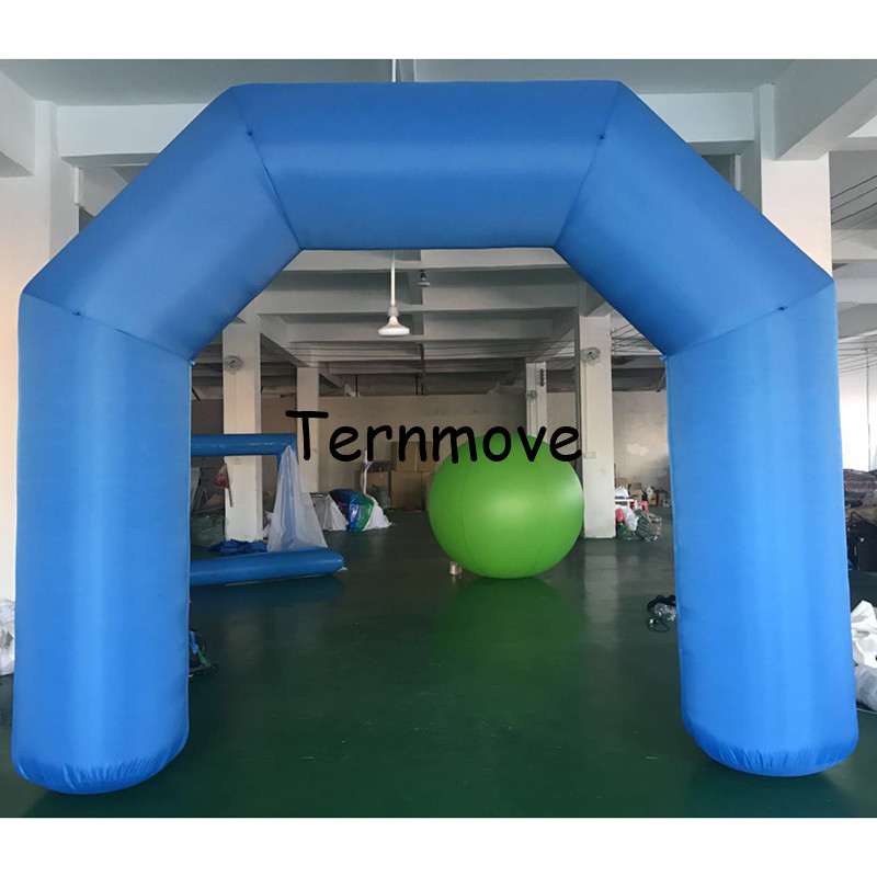 все цены на 3.3x4m inflatable arch with blower without printing inflatable finish line race start advertising inflatable archway