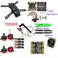 Rc avião qav 250 fibra de carbono pro mini quadro quadcopter zangão com câmera f3 vôo controlador emax rs2205 2300kv motor