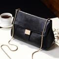 2017 Simple Fashion Shoulder Women Bag Ladies Office Chain Messenger Bag Designer Snake chain PU Leather Small Crossbody Bag