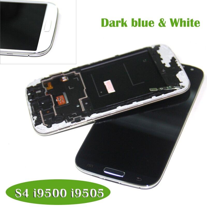 imágenes para Highscreen Pantalla Pantalla LCD compatible para samsung S4 Para Samsung Galaxy GT-I9505 S4 I9500 i337 LCD Digitalizador con marco