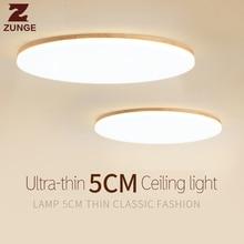 ФОТО zunge ceiling light led nordic bedroom lamp simple modern wood solid wood style living room restaurant  p701