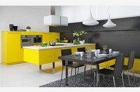 2017 новые дизайнерские современные кухонные шкафы белого цвета современная Глянцевая Лаковая кухонная мебель L1606047