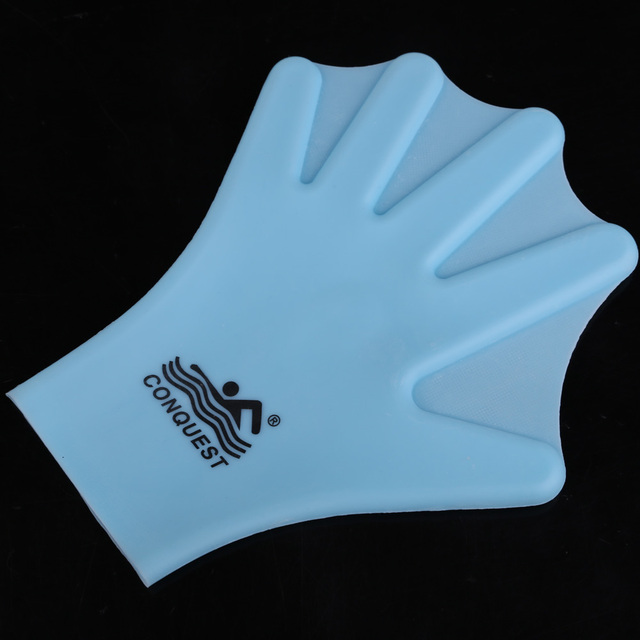 Silicone Swimming Webbed Gloves