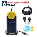 Professional V2014.01 Multi-Diag Access J2534 Pass-Thru OBD2 Device J2534 MultiDiag Access Auto Diagnostic Scan Tool