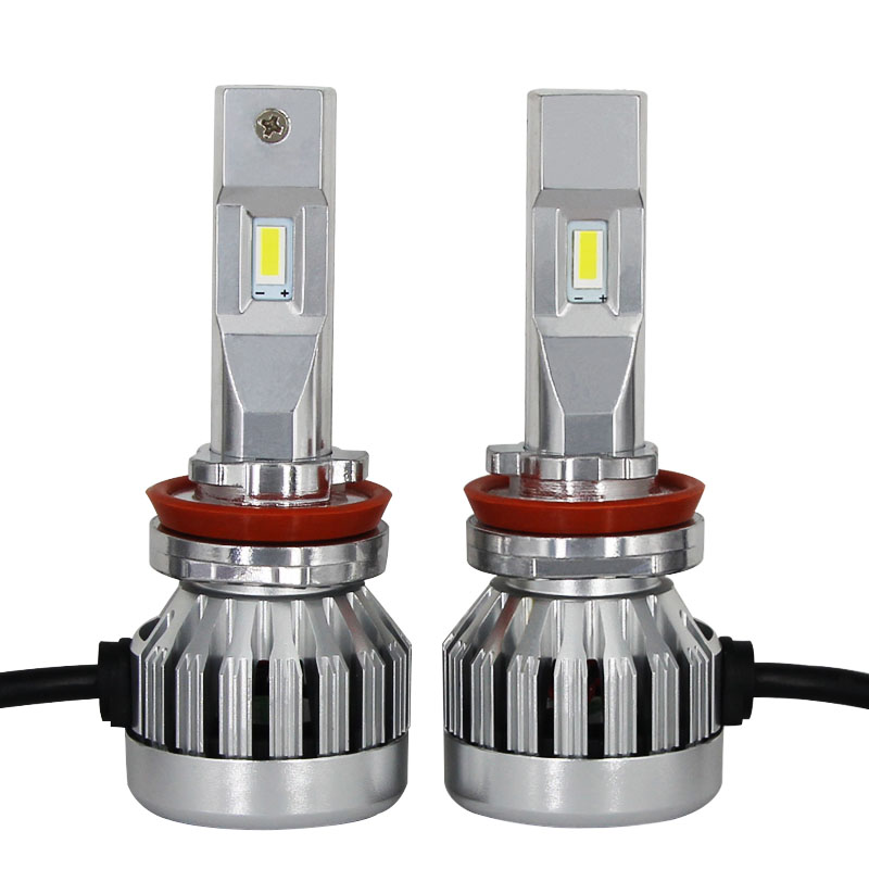 DarkAway H11 LED Headlight Kit H4 H7 H8 H9 H1 HB3 HB4 Car LED Light Bulb Ultra Bright 10000Lm 84W 6000K White 2 Year Warranty