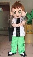 Ben10 mascot costume stupid boy mascot costume for adult Halloween Purim party event
