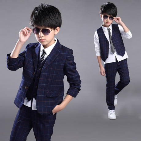 05fdea9ec6fbf Takım elbise ve Blazers Çocuk Giyim erkek takım elbise bahar sonbahar  kıyafet erkek takım elbise +
