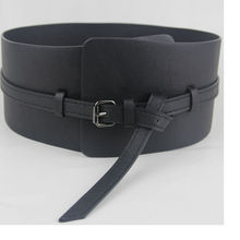 Free Shipping High quality fashion punk dual-use ultra wide query system curved cummerbund