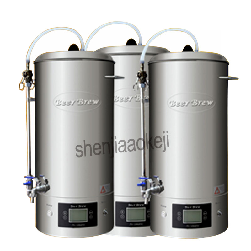 Household brewing machine 30L Commercial Beer Mash kitchen equipment Homebrew beer device 220v 2500w 1pc|Home Wine Making Machines| |  - title=