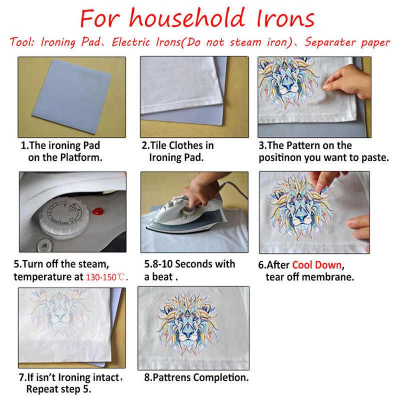 Мультяшная наклейка на одежду для детей, сделай сам, милые нашивки, моющиеся, легко печатаются, качественная аппликация, утюжок для передачи тепла, для детей