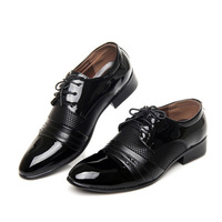 Men's Dress Shoes Summer Autumn Mens Dress leather Shoes Breathable Wedding party boy Shoes Men casual Flats pointy black brown