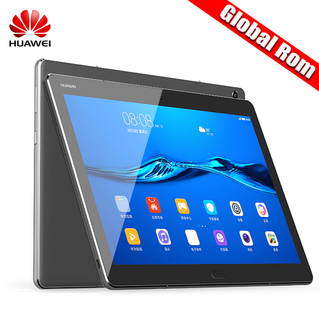 "Глобальный Встроенная память Huawei MediaPad M3 Lite 10.1 ""3G/4 г Оперативная память 32 г/64 г Встроенная память Android 7.0 Планшеты msm8940 Восьмиядерный отпечатков пальцев 8.0mp 6660 мАч s"