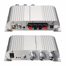 Hot Selling Mini Car Motorcycle Home Hi-Fi Stereo Amplifier Amp For mp3 For iPod PC DVD CD 12V
