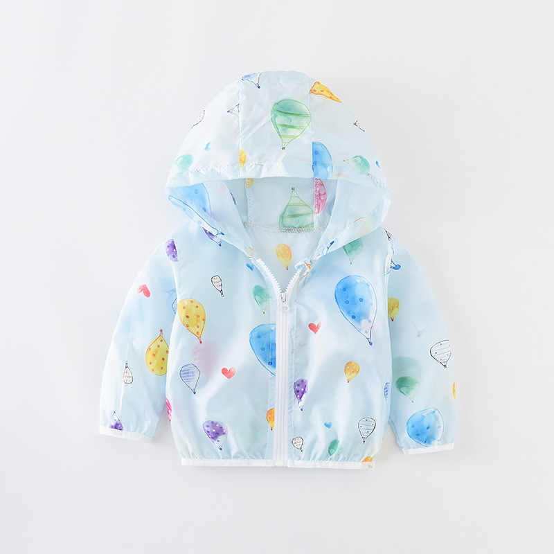 Детский костюм, летняя коллекция 2019 года, Корейская версия, новая мужская и женская Солнцезащитная одежда, тонкие пляжные пальто на молнии