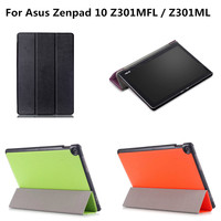 Luxury Ultra Slim With Magnet PU Leather Cover Stand Case For Asus Zenpad 10 Z301MFL Z301ML