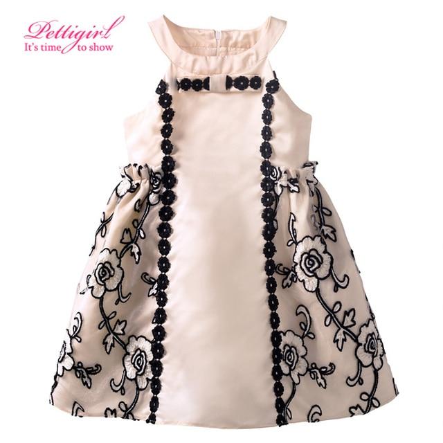 721e7020fc3f 2016 Newest Pettigirl Kids Design Flower Pattern Princess Girl ...