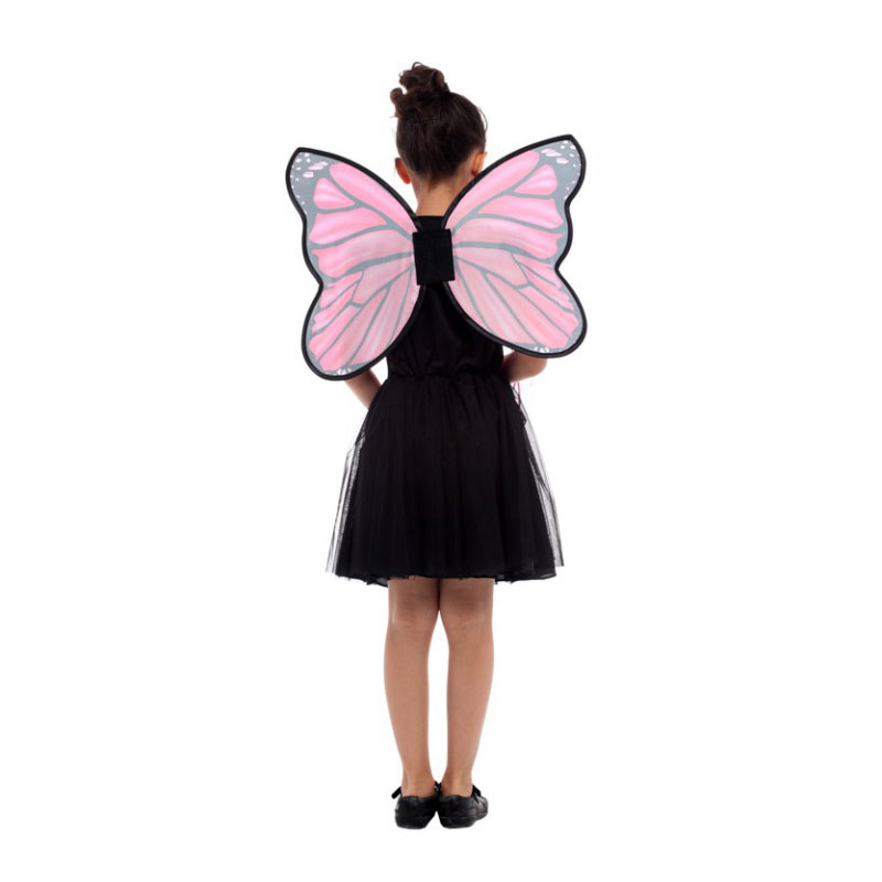 Pink Butterfly Fairy Elf Princess Halloween Costume  4
