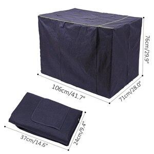 Image 5 - Capa impermeável para casa de cachorro, capa à prova de poeira e durável para gaiola de cães de oxford, dobrável, lavável, capa de cachorro