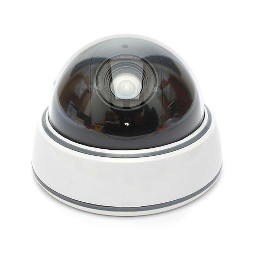 Fake Surveillance Camera With Led Light White Far East Deals
