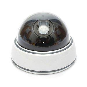 Image 2 - Домашняя камера видеонаблюдения Wsdcam, купольная мини камера видеонаблюдения с фальшивым манекеном, светодиодный светильник белого цвета