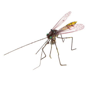 Artificial Mosquito Vivid Floating Hunting Handcraft Insect Ornament Indoor Outdoor Garden Decor Toys Mosquito Decor