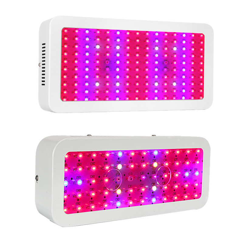 JIERNUO 600W/1200W LED Grow Light Double Chips LED Growing Lamp Full Spectrum Plant Grow Light for indoor plant Aquarium Growing цена
