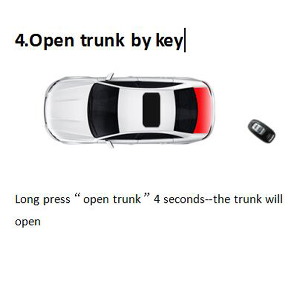 key 4 open trunk
