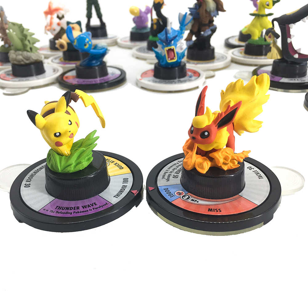 日本アニメフィギュアタカラトミーおもちゃのポケモンモンスターグッズアクションフィギュア戦争チェスボードゲーム子供のための