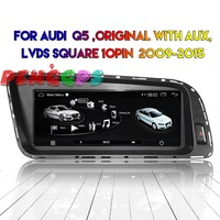 Android Car DVD Player GPS Radio For Audi Q5 2009 2010 2011 2012 2013 2014 2015 Car Stereo Audio Video Multmedia Bluetooth Auto