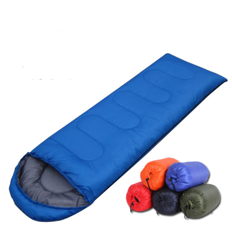 Outdoor Camping Climbing Keep Warm Envelope Hat Adult Sleeping Bag Outdoors Sports Ultralight Tent Equipment Portable Lazy Bag
