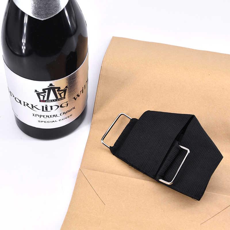 Новая исчезающая бутылка шампанского (черная) может залить жидкие Волшебные трюки забавная сцена Волшебная Иллюзия магические трюки Реквизит Волшебники