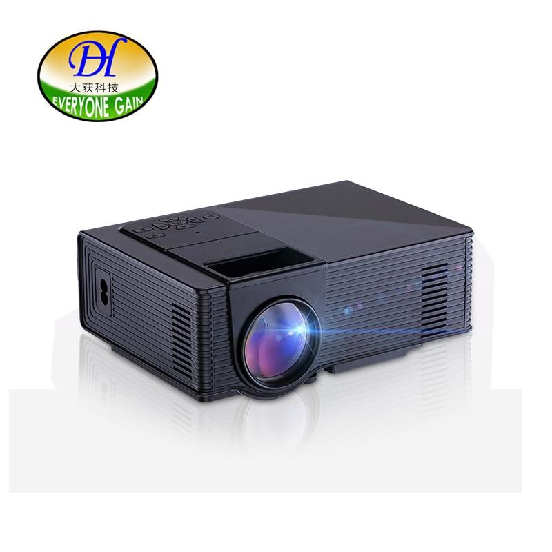 Tout le monde gagne mini298 + projecteur 1500 Lumens Support 1920x1080 TV projecteur LED MINI projecteur pour Home Cinema TV faisceau vidéo