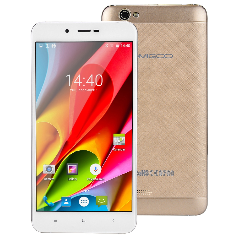 AMIGOO X15 3G Android 6 0 5 5 Inch Smartphone MTK6580 Quad Core 1 3GHz 1GB