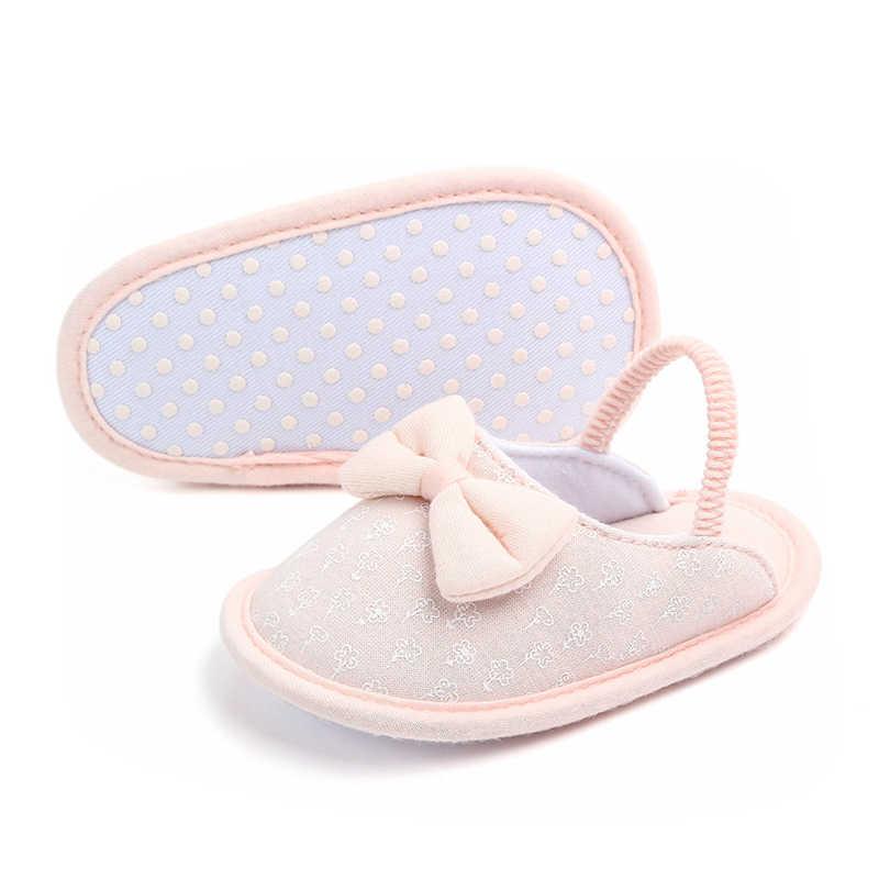 Neugeborenen Baby Junge Mädchen Weiche Sohle Baumwolle Slipper Krippe Schuhe Anti-rutsch Shose