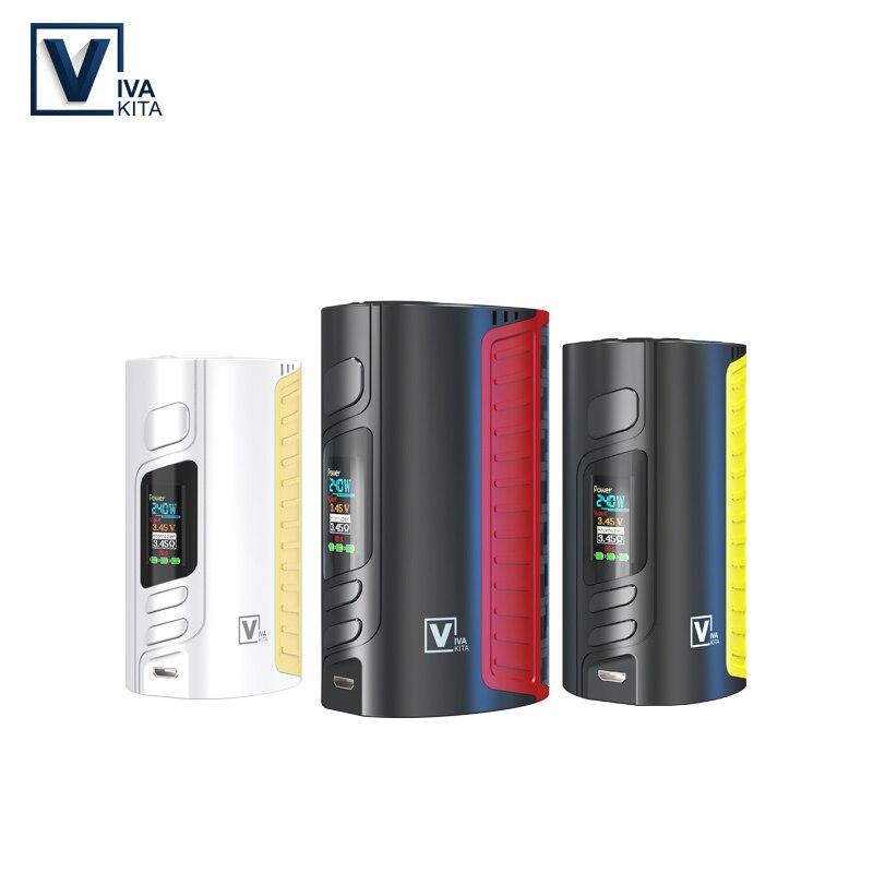 Gift RDA TANK 240W Battery Mod vape Electronic cigarette MOVE 2 240W Box Mod support 18650 battery cell Mod for 510 thread kit in Electronic Cigarette Mods from Consumer Electronics