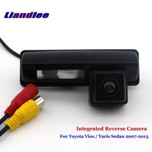 Liandlee For Toyota Vios / Yaris Sedan 2007-2013 Car Rear View Backup Parking Camera Rearview Reverse Camera / SONY CCD HD new high quality rear view backup camera parking assist camera for toyota 86790 42030 8679042030