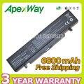 Apexway 6800 mah batería para samsung r423 r428 r480 365e5c 350v5c np350v5c np350e5c e257 sa20 sa21 aa-pb9nc6b aa-aa-pl9nc2b